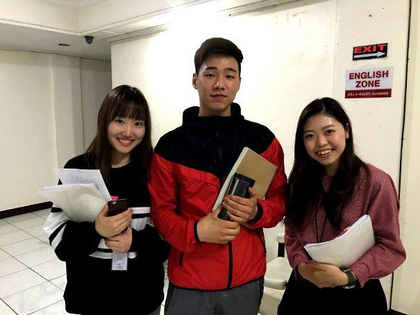 バギオA&Jで韓国人留学生と