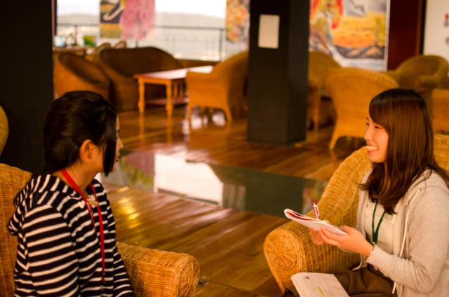 フィリピン留学者が夢を語る